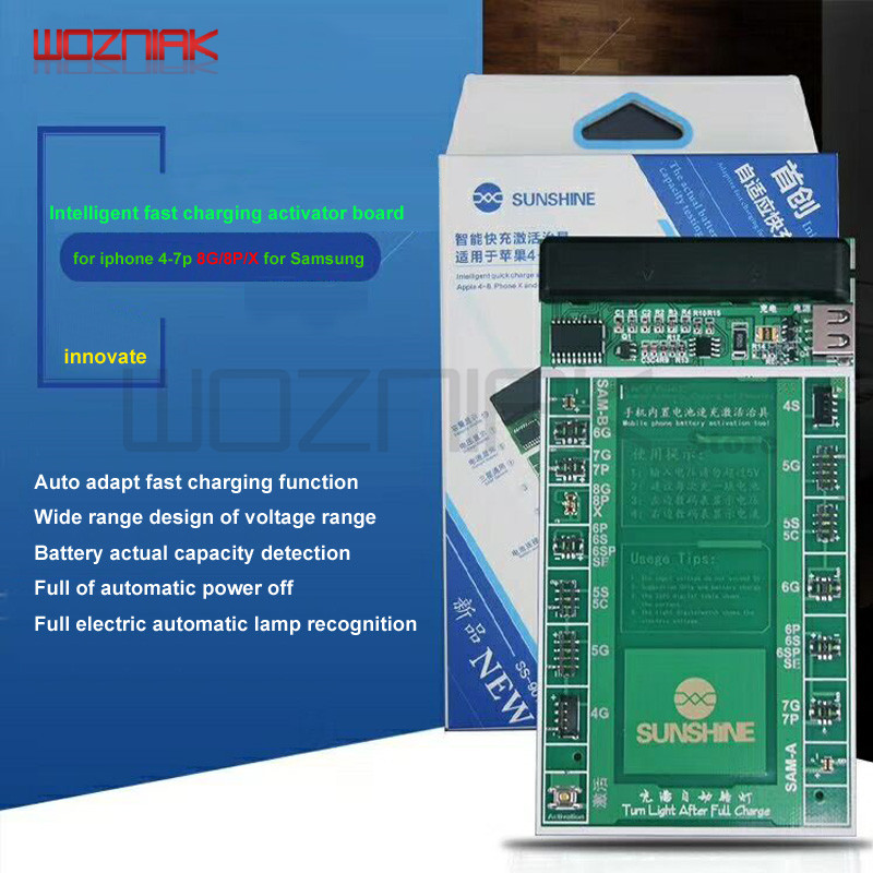 цены Worzniak Battery Power Supply Activation Line for iphone 4 4s 5 5c 5s 6 6s Plus 6sp 7 7p 8 8P X for Samsung Battery Test Board