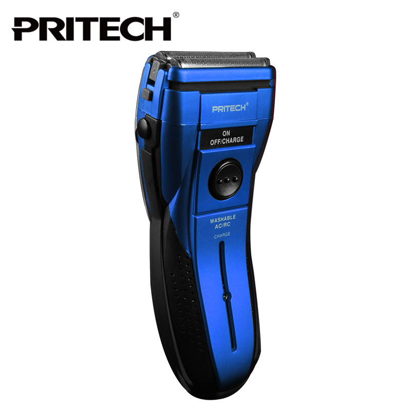 Pritech rechargeable hair shaving machine washable shaver personal care styling tool for man electric shaver razor