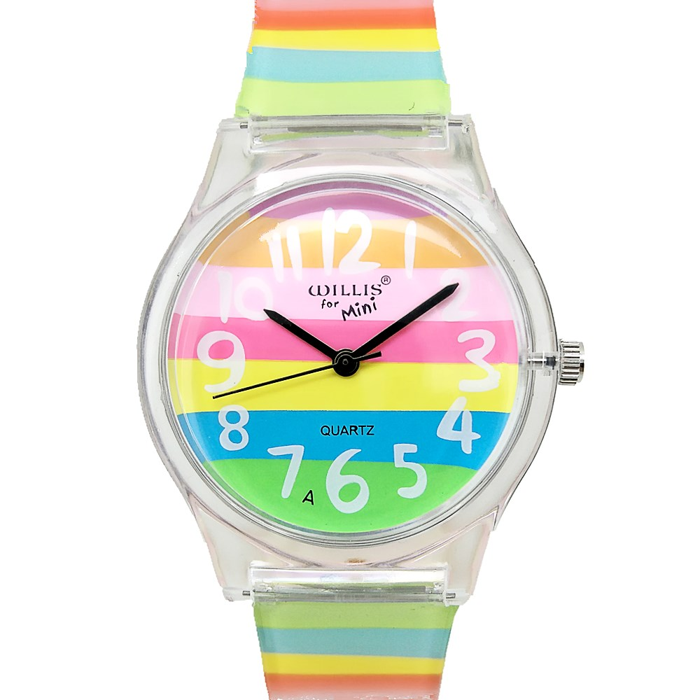윌리스 여성 시계 라인 스톤 가죽 시계 스테인레스 작은 테이블 가죽 테이블 시계 스테인리스 방수 시계 0150
