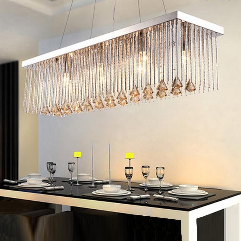 Lighting Fixtures Lustre LED Light Dinning Room Crystal Chandelier