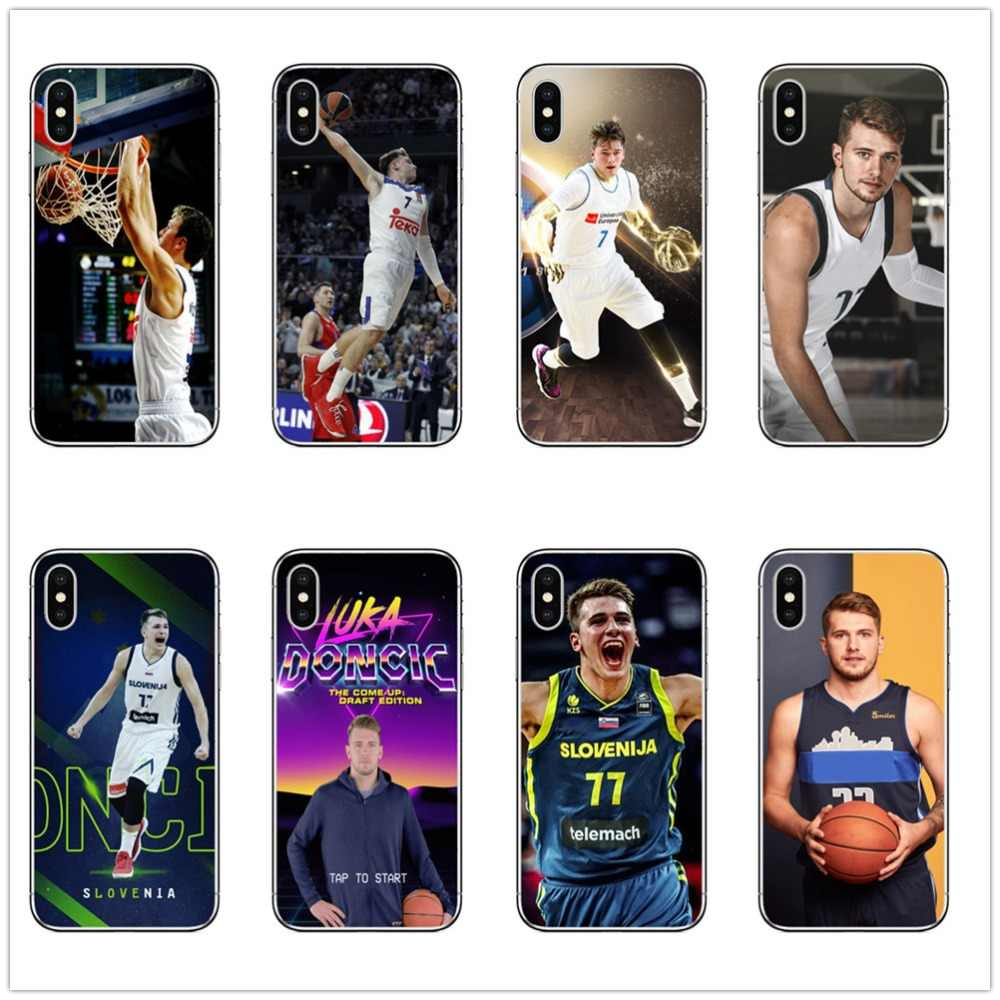 abcdf0baa KULIAI Luka Doncic phone Case SOFT TPU Silicone Covers for iPhone 6 6s 7 8  plus
