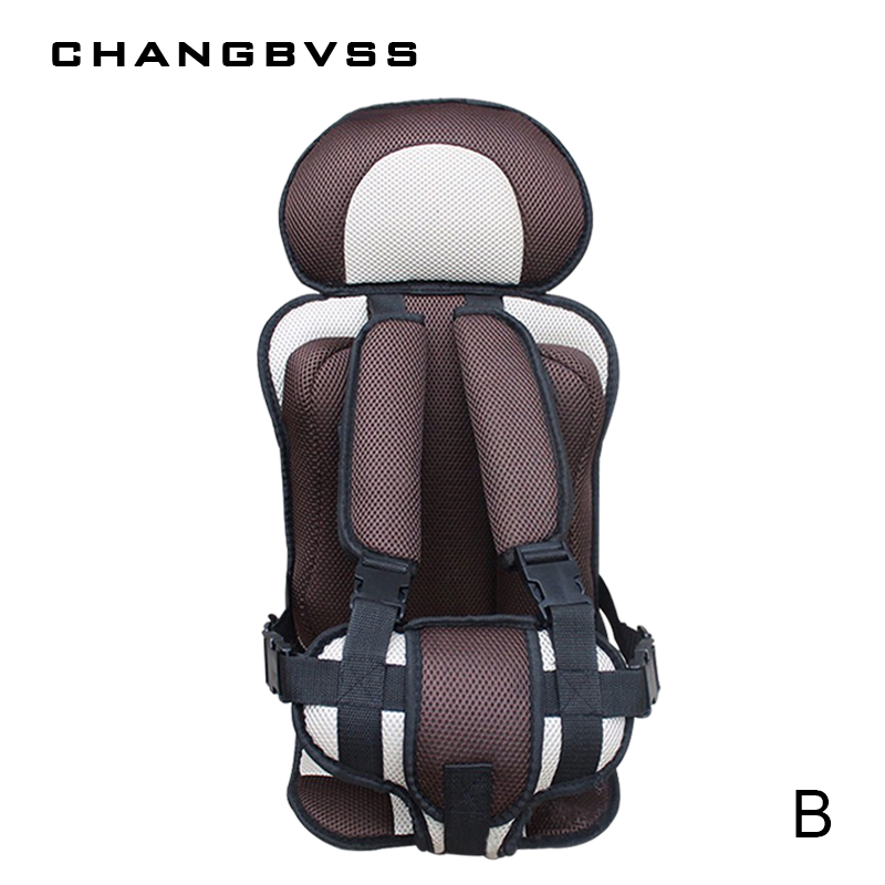 Portable Thicken Baby Children's Car Seat,Soft Breathable Carseat For 6 Months to 5 Years Old Baby,Baby Auto Seat,8 Colors
