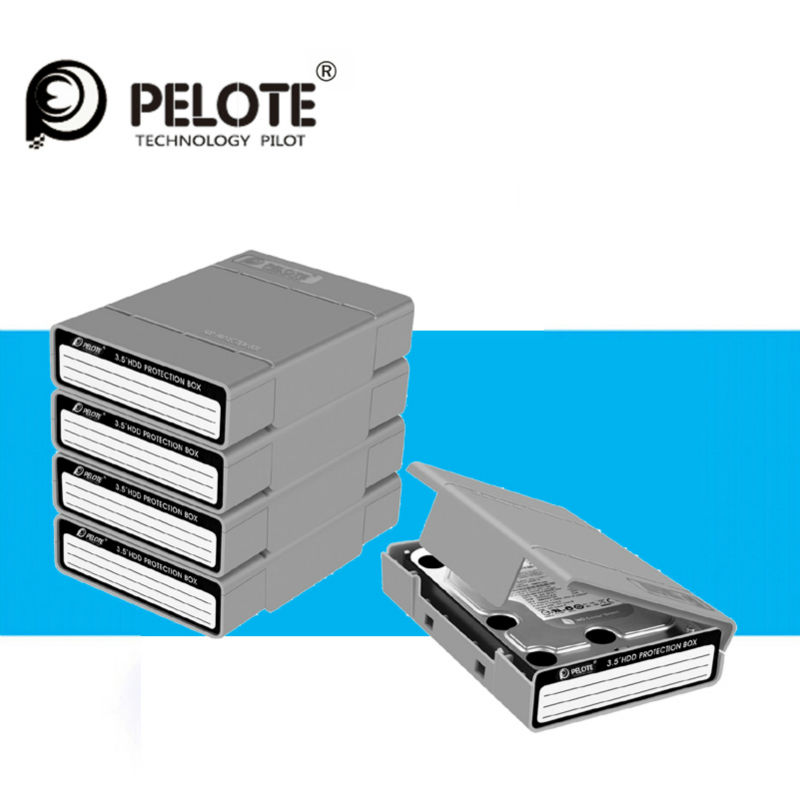 5PCS/Lot Simple HDD Protector Box For 3.5