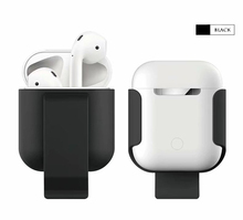 Airpods case 1 2 AirPods Bluetooth Headset Case Anti-fall Wear Hanging Waist Shell 2019 new