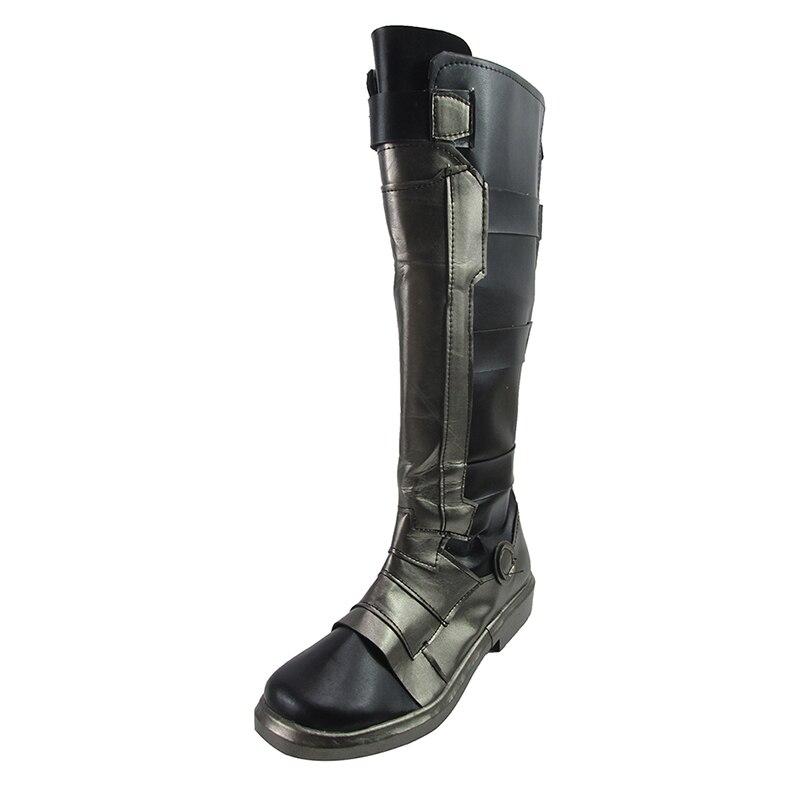 brdwn Owatch Men s SOLDIER 76 Morrison Reaper Gabriel Reyes Hanzo Middle calf boots Custom flat