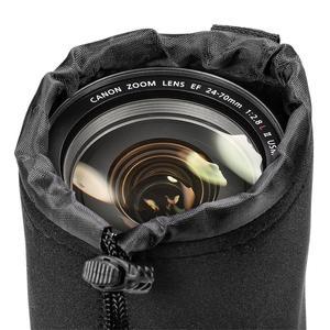 Image 5 - Jumpflash kamera kılıfı Lens kılıfı seti Lens çantası küçük orta büyük ve ekstra büyük DSLR kamera Lens için çanta kılıfı darbeye dayanıklı