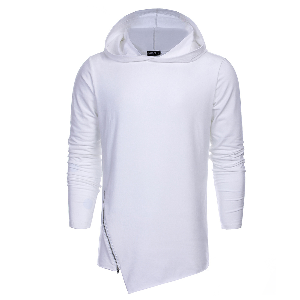2XL Fashion Brand Hoodies Men Sweatshirt Male Zipper Hooded Pullovers Casual Sportswear Casual 2 colors Outwear