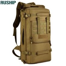 Hunting Laptop Backpack Shoulder Bags Large Capacity 50L Men Multifunction Rucksacks Travel Bags Tactics Waterproof Backpacks
