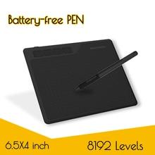 Gaomon s620 6.5x4 polegadas digital caneta tablet anime gráfico tablet para desenho e jogar osu com 8192 níveis bateria livre caneta