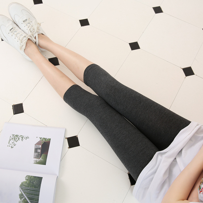 High Waist Fitness Leggings Women Modal Short Leggings Comfortable Trousers For Female