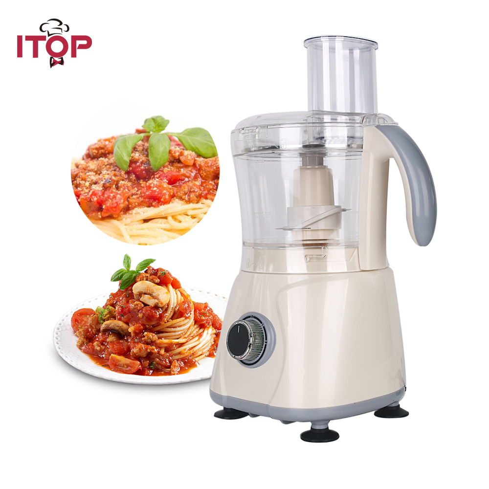 Itop New Arrival Commercial powerful Blender Fruit Vegetable smoothies Food Mixer Stainless Steel Blade Kitchen Processors multi function food processors vegetable cutter food slicer set folding design stainless steel blade kitchen appliances