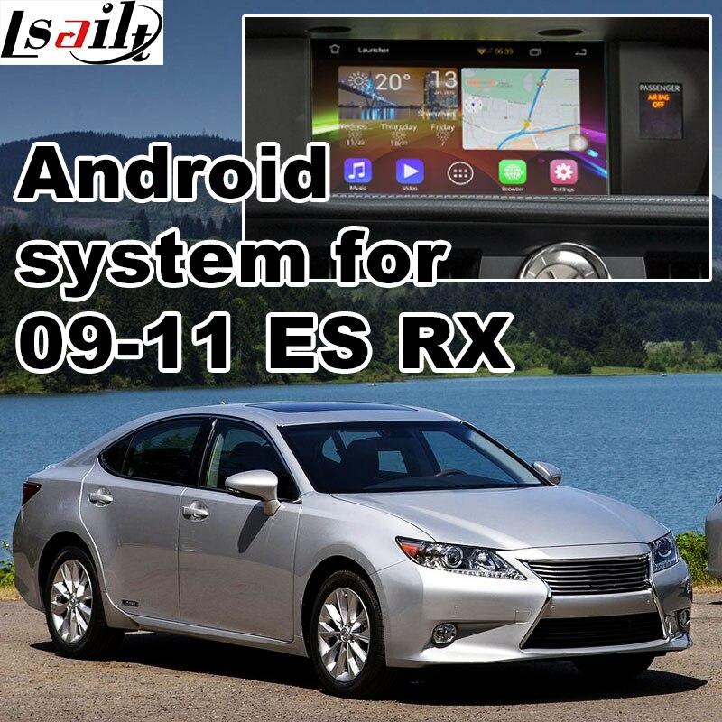 Android 6.0 GPS окно навигации видео интерфейс для нового Toyota и Lexus IS ES NX <font><b>RX</b></font> GX LX с gvif зеркало Ссылка YouTube waze МПО