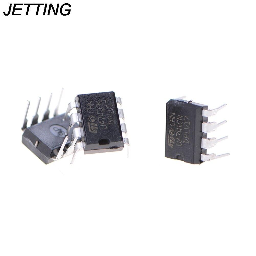 Online Shop 10pcs Ua741cn Lm741 741 Operational Amplifier Op Amp Dip Circuit 8 Ic Aliexpress Mobile
