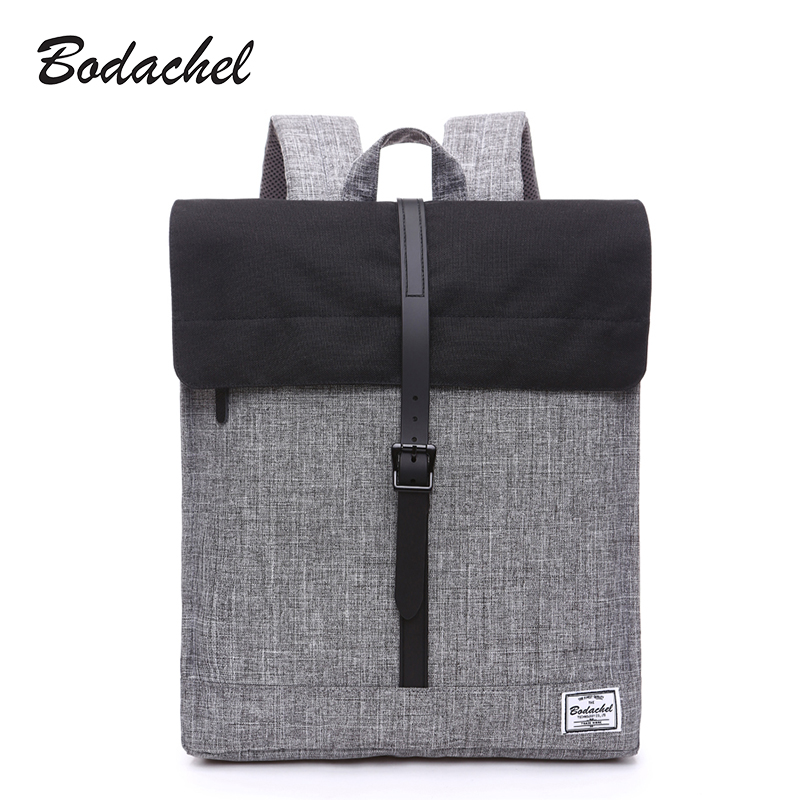 Bodachel oxford canvas women backpack