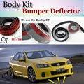 Para Holden Commodore Parachoques Labios Lip/TopGear Tienda Spoiler Tuning/TOPGEAR Kit de Carrocería + Tira