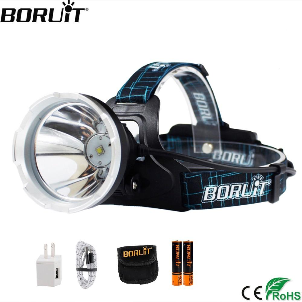 BORUIT B10 XM-L2 LED…