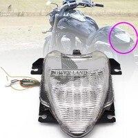 1pcs Clear Lens Motorcycle Integrated LED Park Brake Tail Light Turn Signal Brake Light Fit For