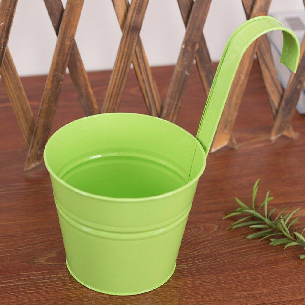 Aliexpress.com : Buy 10pcs Metal Iron Hanging Flower Pot Container ...