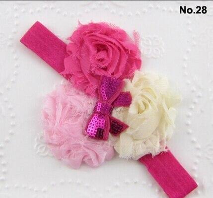 Купить 8 шт/лот 28 цветов детская повязка на голову алмазный/горный