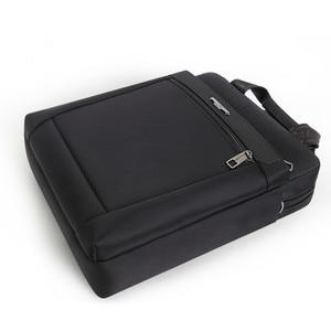 Image 3 - Men Small Briefcase Vertical Document Pack Mens Single Shoulder 12 inch IPAD Bag Male Waterproof Nylon Messenger Bag Sac Homme