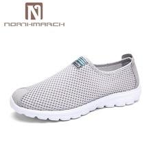 NORTHMARCH Men Shoes 2018 New Men Sneakers Summer Men Shoes Breathable Mesh Casual Shoes Fashion Slip On Flat Shoe For Men