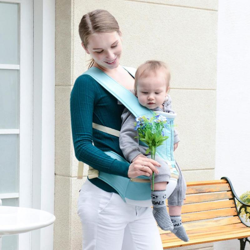 Ergonomic Baby Carrier Kangaroo Hipseat for Newborn Infant and Prevent O-type Legs Slings Waist Stool Seat Load-bearing 25Kg
