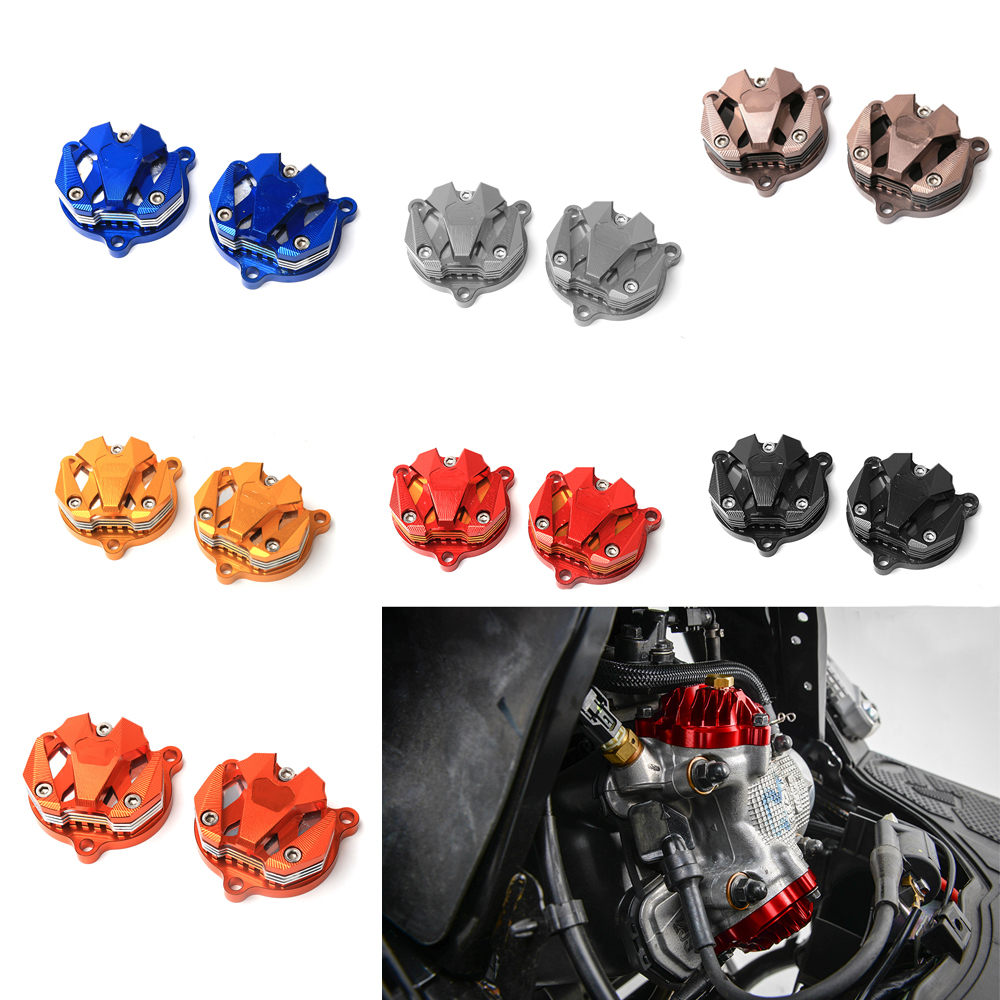 Motorbike Scooter CNC Aluminum Alloy Engine Cam Head Side Cap Cover for Yamaha BWS X 125 BWS R 125 Cygnus 125 GTR 125 6 Color motorcycle scooter electroplate front headlight headlamp head light lamp small mask cap cover shield large for yamaha bws x 125