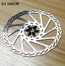 Free shipping MTB mountain bike hydraulic disc brake AVID G3 high-quality stainless steel BB5 / BB7 180MM 7 inch 12 bolt(China)