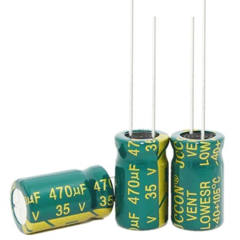 35v470uf 470uf 35v  Size:10*17mm best quality New origina high-frequency crystal - discount item  5% OFF Passive Components