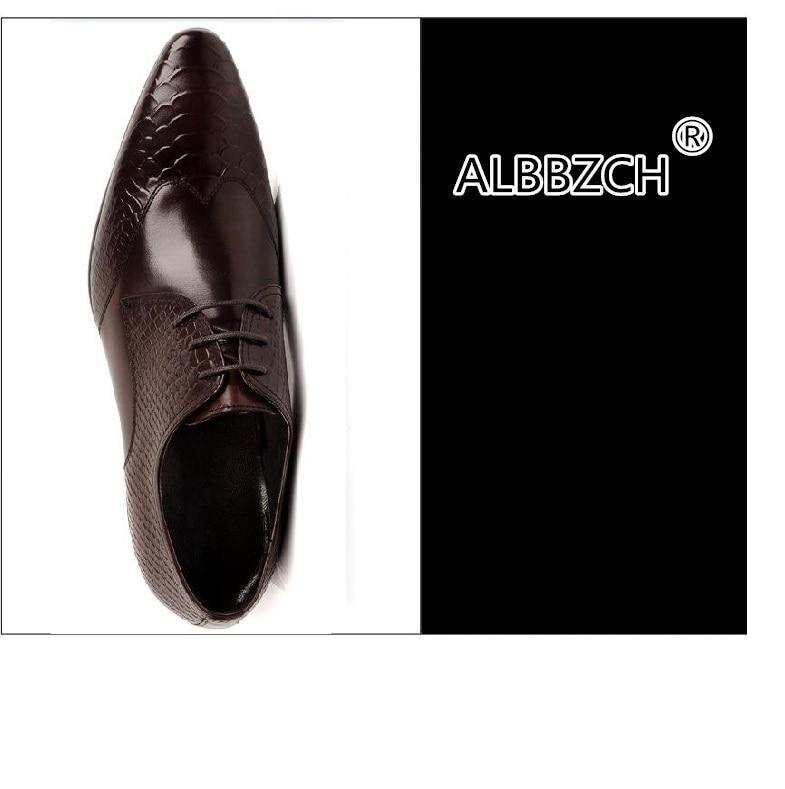 Zapatos Up Boda Lace Hombre De Punta Trabajo 1 Cuero Nuevo Hombres Repujado Toe Vestir Calidad Alta Moda 2 Genuino Mens 5ROPnw1qfx