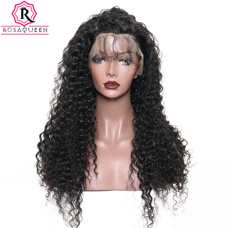 Deep Part 13x6 Lace Front Human Hair Wigs For Women Brazilian Deep Wave Lace Frontal Wig 250% Density Natural Black Remy Dolago