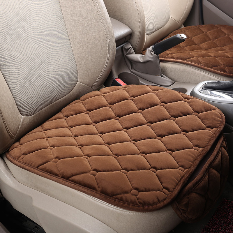 New Velvet Car Seat Cushions For Volkswagen Beetle CC Eos Golf Jetta Passat Tiguan Touareg sharan,