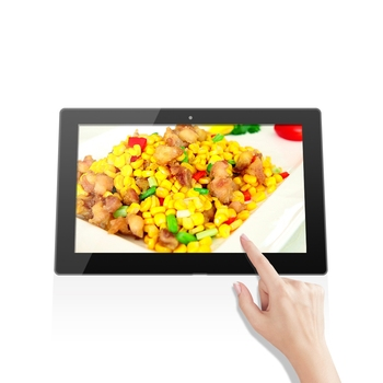 Good price and hot 10.1 inch Zero bezel Pure Flat Capacitive touch industrial android all in one Panel PC