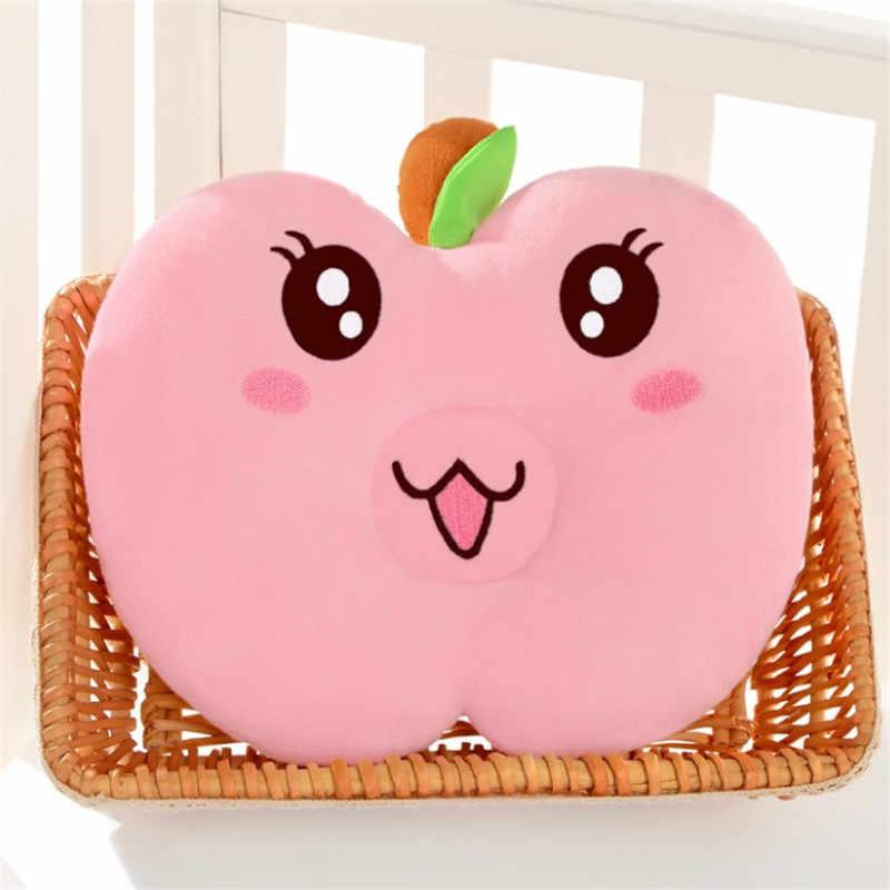 Hot Sale Infant Head Support Kids Cartoon 4 Colors Apple Shaped Headrest Sleep Nursing Baby Pillow To Prevent Fat Head