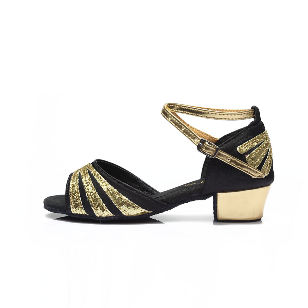 Hot Selling Ballroom Tango Dancing Shoes Salsa Latin Dance Shoes For Girls Women Adult And Kids