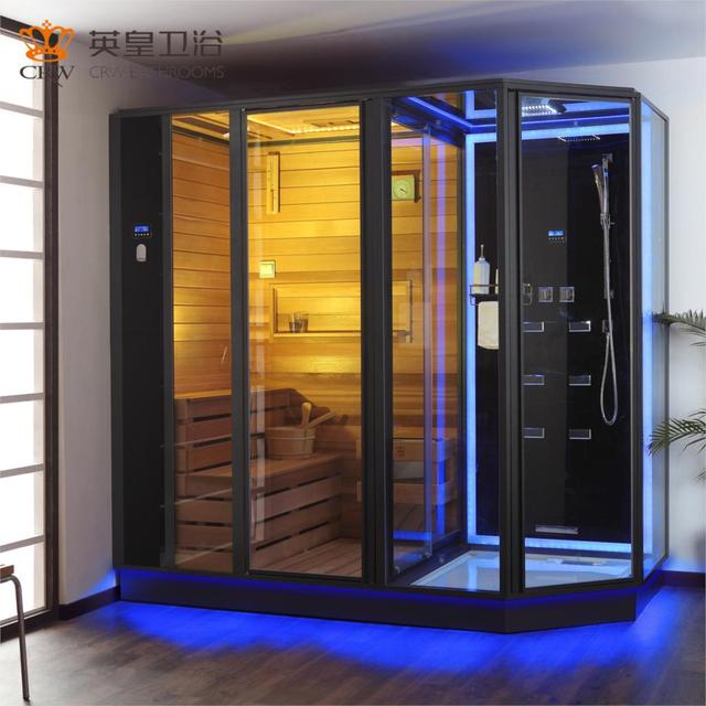Overall Sauna Bath Pouring 0006 Mu Glass Steam Room Sale