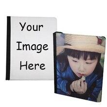 الحالات الهاتف مخصص ل i-pad 2 3 4 5 6 قرص جلد الوجه التسامي شخصية mini air حافظة جلدية