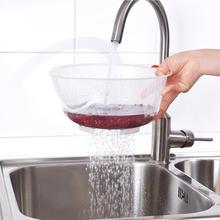 Пищевой пластиковый рис бобы, фильтр для мытья гороха, Зеленый Розовый цветная корзина, сито, чистящий гаджет, цвет в случайном порядке