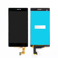 50PCS Lot LCD Touch Screen For Huawei P8 LCD Display With Touch Screen Digitizer Assembly Black