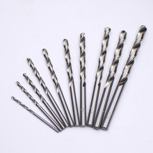 Quality 10pcs/lot 5% Cobalt High Speed Steel Drill Bits Set HSS Twist Drills Bits For Drilling thick Steel(China)