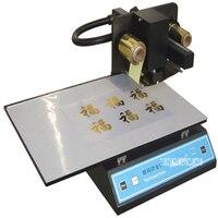 1 PC ADL 3050A Automatic hot foil stamping machine, 300 dpi Pvc label making machine, Digital Printer