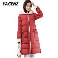 2018 New Winter Lambs Wool Jacket Women Warm Coats Korean Loose Thick Cotton Long Overcoats High