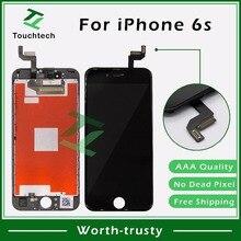 10 шт./лот для iPhone 6S ЖК-дисплей Pantalla дигитайзер и 3D сенсорный 4,7-дюймовый экран клон объектив в сборе Отличная упаковка