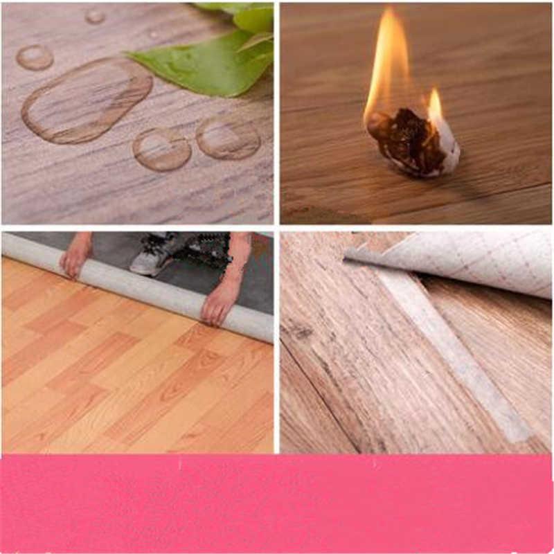 Beibehang утолщенный пол кожа ПВХ полы наклейки носить цемент коврик грубой комнате Пластиковые домашние спальни кожаные обои
