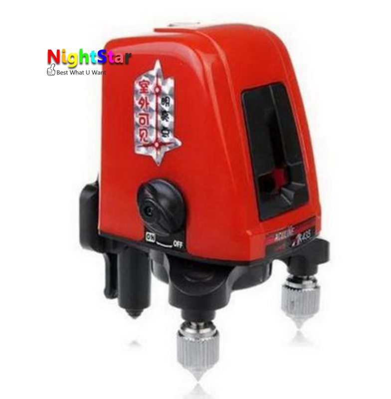 Professional AK435 A8826D  360degree Self-leveling Cross Laser Level 2 Line 1 Point + Wall built-up a8826d better than ak435 360degree self leveling cross laser level 1v1h red 2 line 1 point hot sale