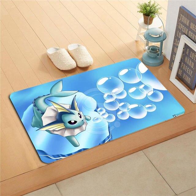 Pokemon Doormat Home Decor Door Mat Floor Mat Bath Mats