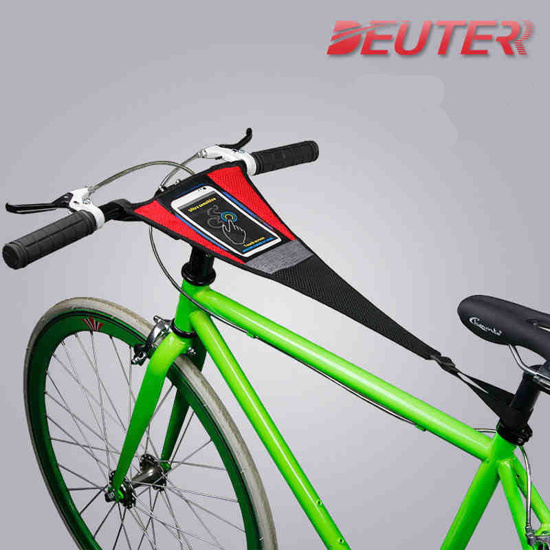 Bicycle rollers professional sweat proof mobile phone touch 5.5 inch road bike mtb trainer sweat proof net riding platform Trainers & Rollers     - title=