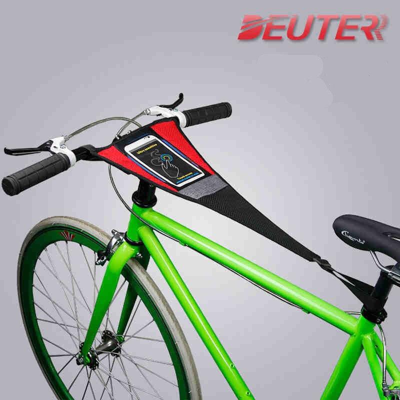 Vélo rouleaux professionnel anti-transpiration téléphone portable tactile 5.5 pouces vélo de route vtt formateur anti-transpiration net équitation plate-forme