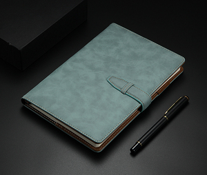 Image 5 - RuiZe A5 hardcover notebook 2020 leather planner agenda organizer office notebook B5 big business notepad  note book soft cover