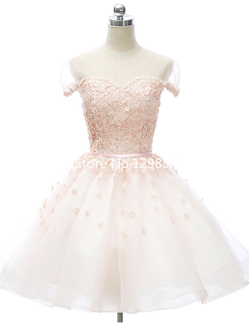 Puffy Party Dresses with Sleeves
